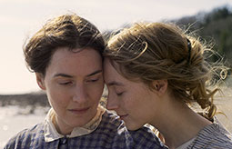 Ammonite: watch Kate Winslet and Saoirse Ronan in the trailer for Francis Lee's new drama