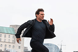 Tom Cruise runs in new Mission: Impossible 7 image